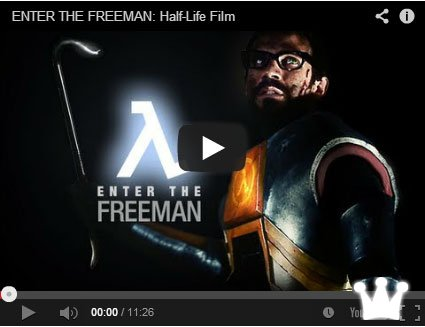 Enter the Freeman