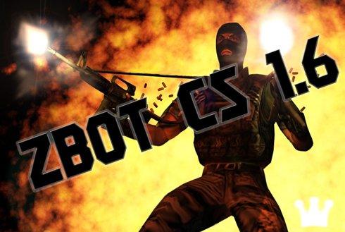 ZBot- официальные боты фирмы Valve для Counter-Strike 1.6. Сделаны на